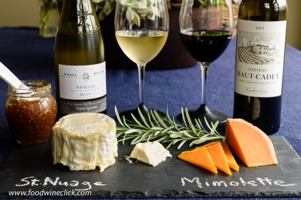 French wines and cheeses
