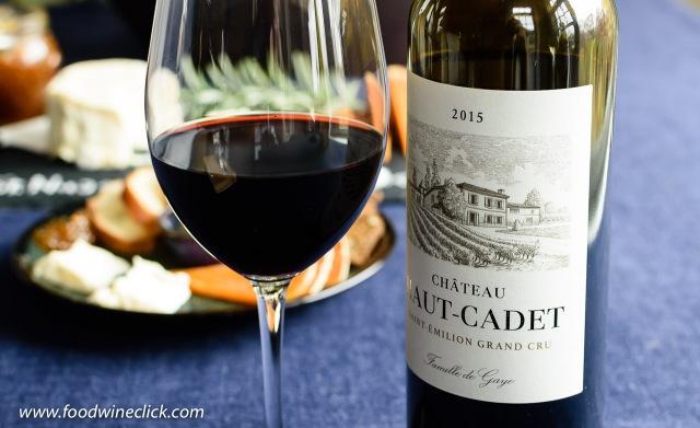 Château Haut-Cadet Saint-Emilion Grand Cru wine from France