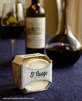 St. Nuage cheese from France