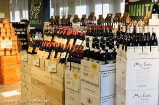 French wines at Whole Foods Market wine shop in Minneapolis
