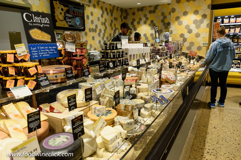 The cheese shop in the Whole Foods Market in downtown Minneapolis