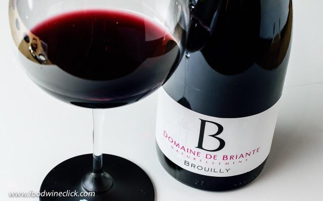 """Domaine de Briante Brouilly """"Naturellement"""" Beaujolais wine"""