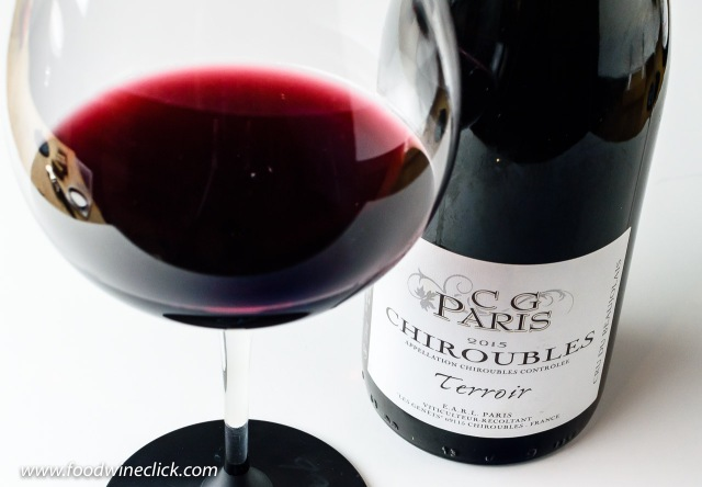 "Gilles Paris Chirobles ""Terroir"" Beaujolais wine"