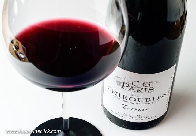 """Gilles Paris Chirobles """"Terroir"""" Beaujolais wine"""