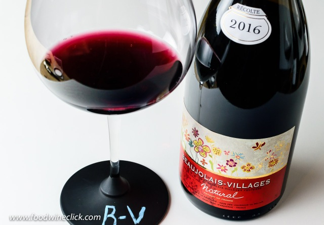 """Vignerons de Bel Air Beaujolais-Villages """"Natural"""""""