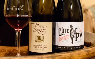 Domaine de la Bonne Tonne Morgon Cote du Py with a new label