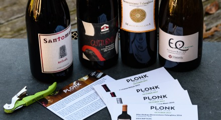 Plonk wine club wines