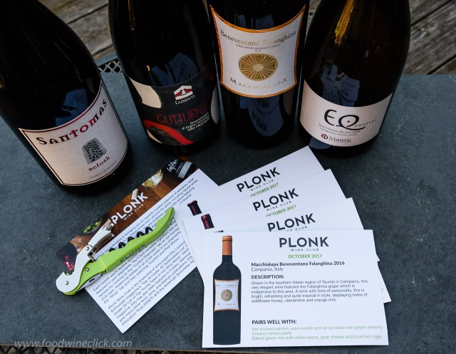 Plonk wine club wine shipment