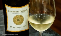 Macchialupa Beneventano Falanghina from the Campania region in Italy