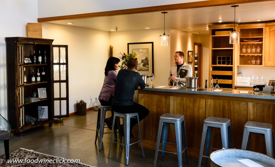Tin Barn tasting room