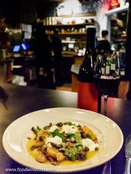 Pasta dish served at Lowell's restaurant in Sebastopol