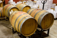 Multi-year aging in neutral oak barrels