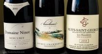 Village level red Burgundy wines