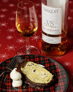 I enjoyed my dessert with Armagnac, also a product of Occitanie!