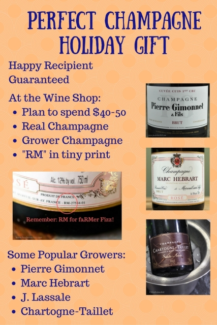 Perfect Holiday Champagne Gift Advice at www.foodwineclick.com