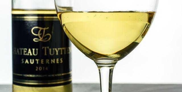 Chateau Tuyttens Sauternes dessert wine
