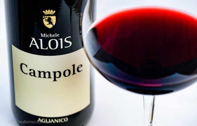 Vini Alois Campole is 100% Aglianico