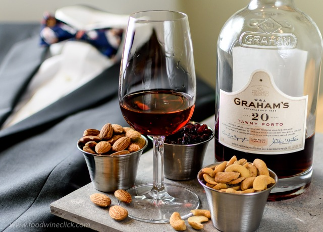 Graham's 20 year tawny port with nuts and dried fruit
