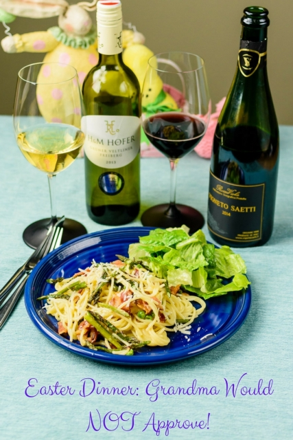 Change up your Easter Dinner, even if Grandma wouldn't approve! at www.foodwineclick.com