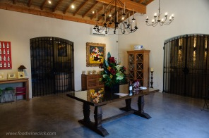 Inviting entry for a tour and tasting