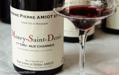 The Aux Charmes was so elegant with a nose of cherries and flowers.
