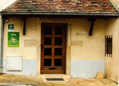 Domaine Pierre Amiot & Fils also has a guest house you can rent via Gites de France. Maybe on a future visit!