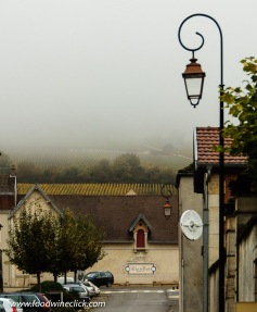 Make sure you bring rainwear when you visit Burgundy!