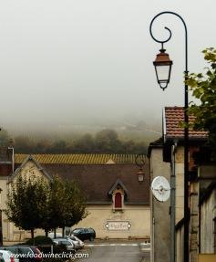Make sure you bring rainwear when you visit Burgundy!