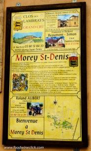 Wineries, hotel, B&B, farm equipment vendor, and a bakery pretty much describe Morey-Saint-Denis