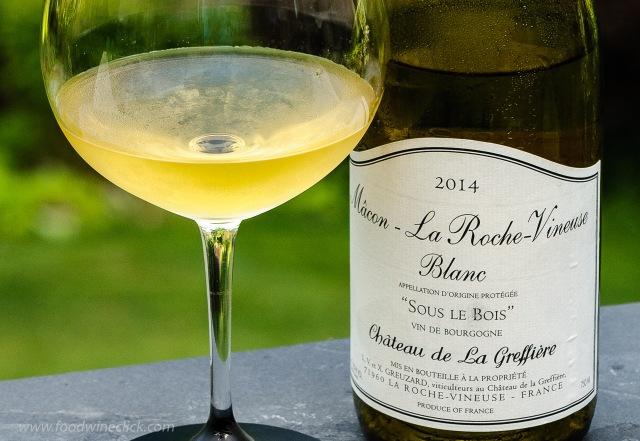 Chateau de La Greffiere Macon-La Roche-Vineuse Blanc