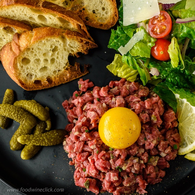 DIY steak tartare