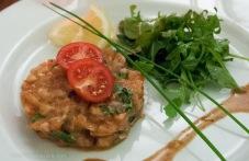 Another salmon crudo at Fou de Fa Fa in Avignon