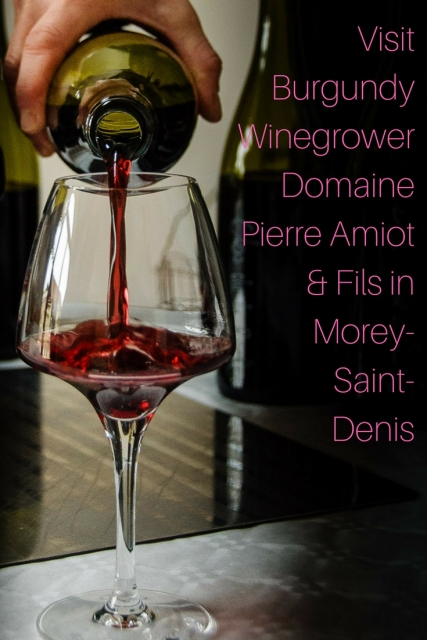 Visit Burgundy Winegrower Domaine Pierre Amiot & Fils in Morey Saint Denis at www.foodwineclick.com