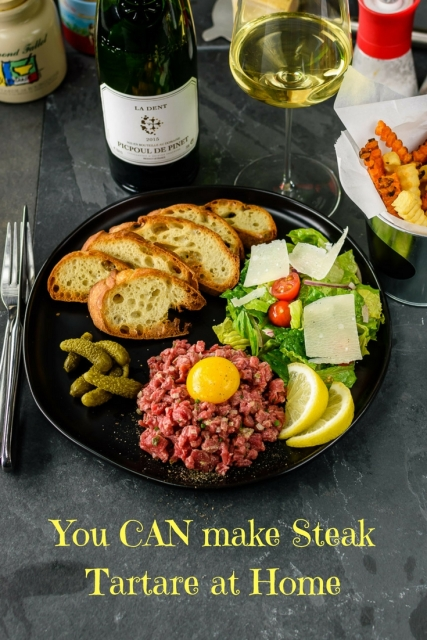 DIY Steak Tartare at www.foodwineclick.com