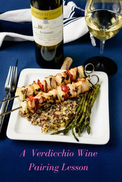 A lesson in wine pairing with Verdicchio at www.foodwineclick.com