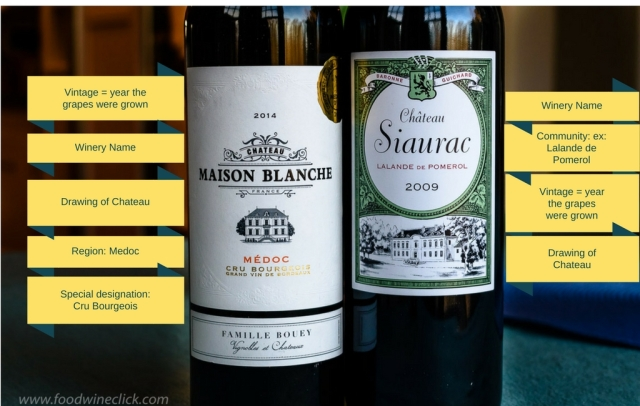 How to read a Bordeaux wine label