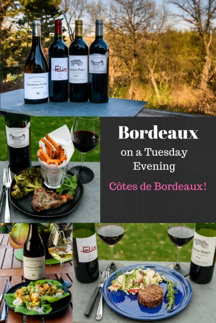 Côtes de Bordeaux for your Tuesday evening dinner at www.foodwineclick.com