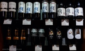 A variety of upper-tier Chinese wines