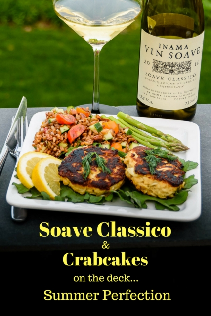 Soave Classico & Crabcakes at www.foodwineclick.com