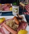 Not gonna lie. At the end of a long hike, Choucroute Garni 7 ways is welcome!
