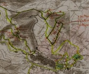 Our AirBnB host had a series of hikes mapped out for our enjoyment. How nice is that!