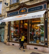Alain Hess Cheese shop in Beaune France