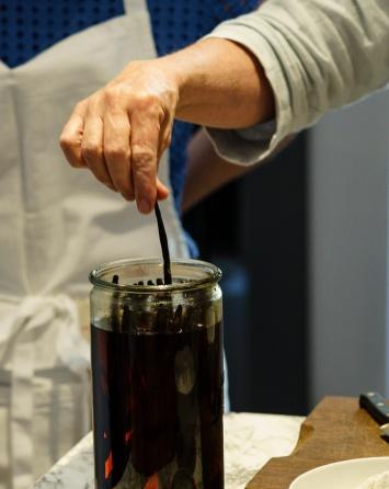 Pro tip: buy vanilla beans. Soak in good quality vodka - best vanilla extract ever!