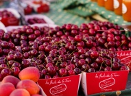 If you see fresh cherries in France, buy them!