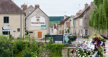 Chablis is a quaint and slightly sleepy town on a summer morning