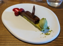 Dessert was delicious art.