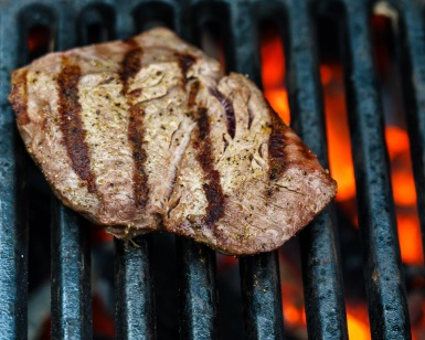 Steaks only take a few minutes