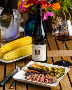 Barolo to say farewell to sweet corn and welcome to roasted carrots and brussels sprouts