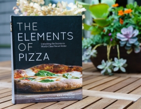 "My current favorite pizza recipe book. It fits the ""harder but worth it"" category"