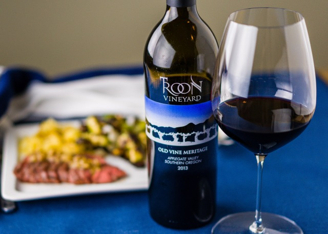 Troon Vineyard Meritage wine